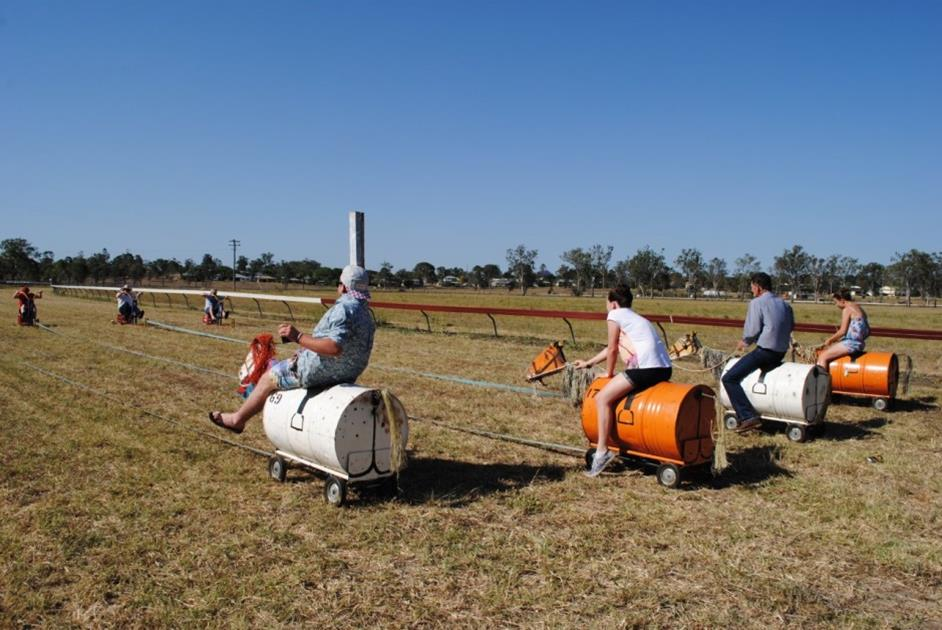 Phantom horse race means barrels of fun for Cup Tour
