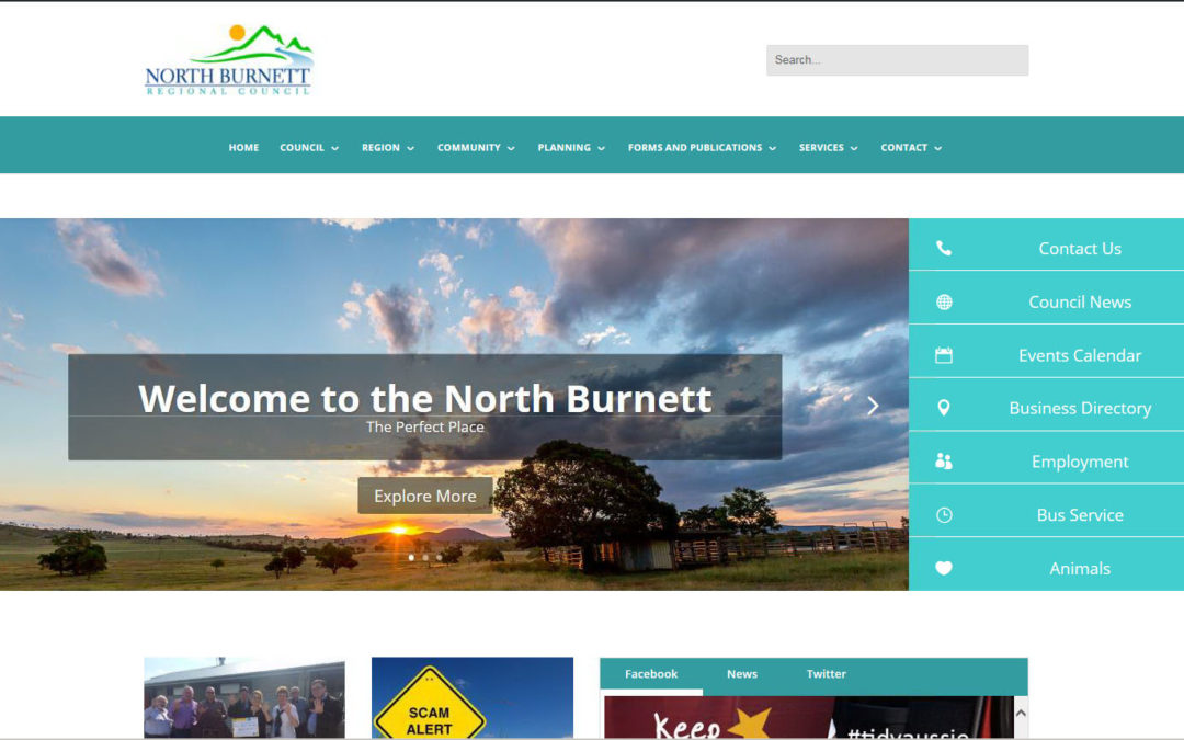 Council's new website is live!