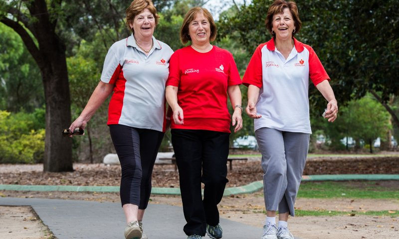 New Heart Foundation Walking groups launch in Mt Perry and Biggenden