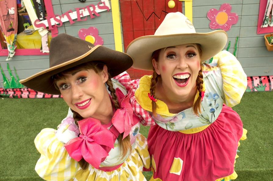 Sisters return with Crackup Variety Night