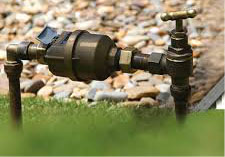 Reading of water meters