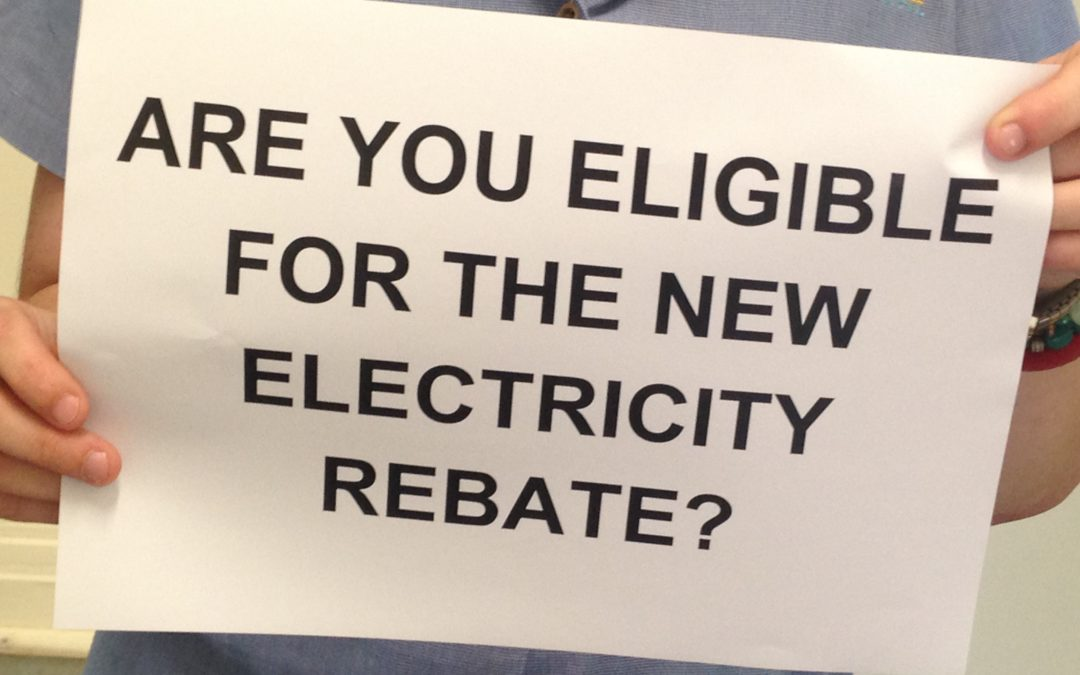 Are you eligible for the new electricity rebate