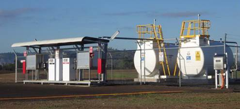 Fuel now available at aviation fuel facility in Gayndah