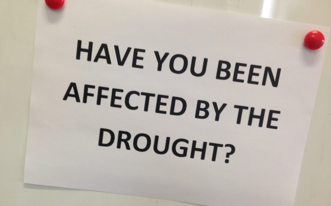 (10-03-17) Have you been affected by the drought?