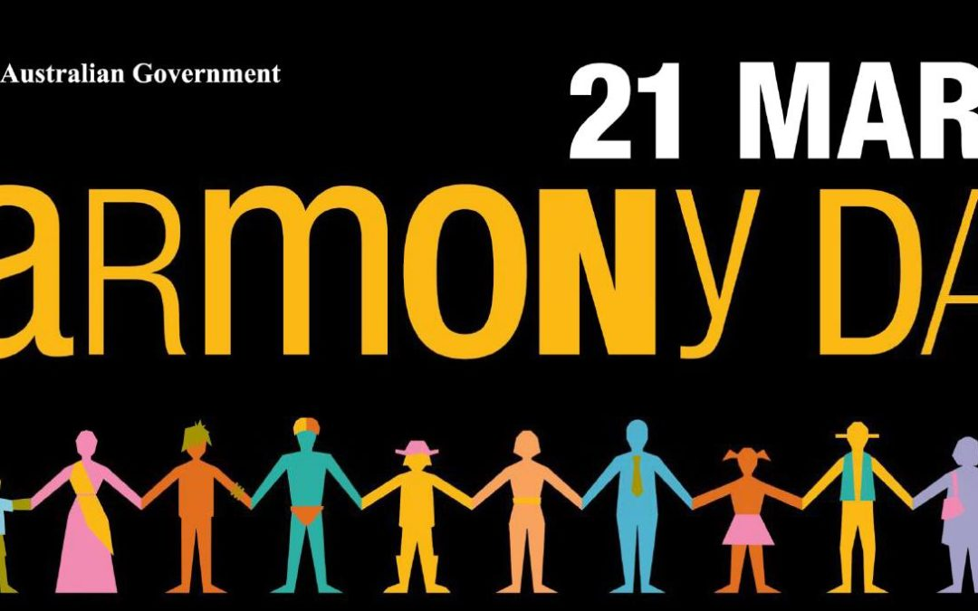 (01-03-17) Celebrate Harmony Day @ your local library!  10am Tuesday, 21 March