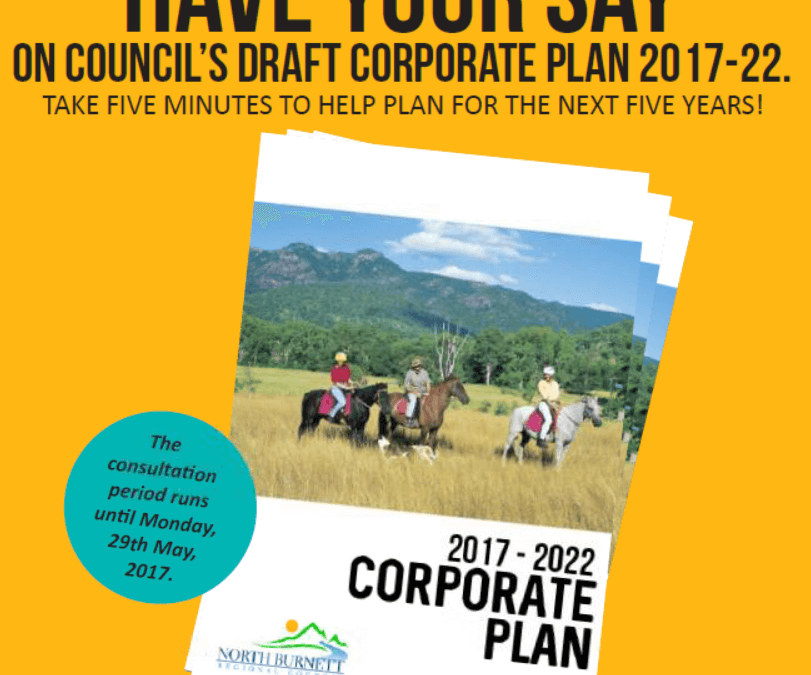 (05-05-17) Have your say – Council's draft Corporate Plan