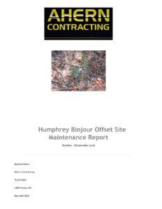 Ahern-Contracting-Humphrey-Binjour-Offset-Site-Maintenance