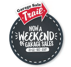 Garage Sale Trail – Only 3 Weeks to go!!