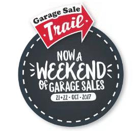 Now a weekend of Garage Sales