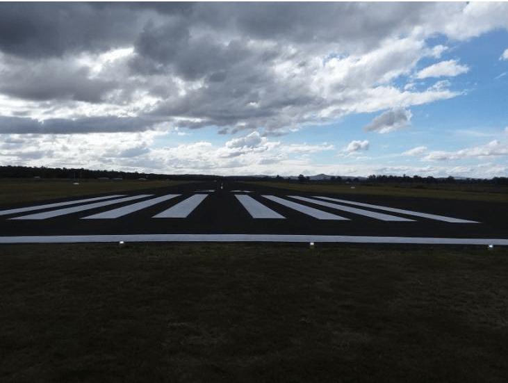 Monto Aerodrome upgrade complete