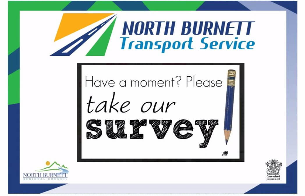 North Burnett Transport Service  Community feedback welcome
