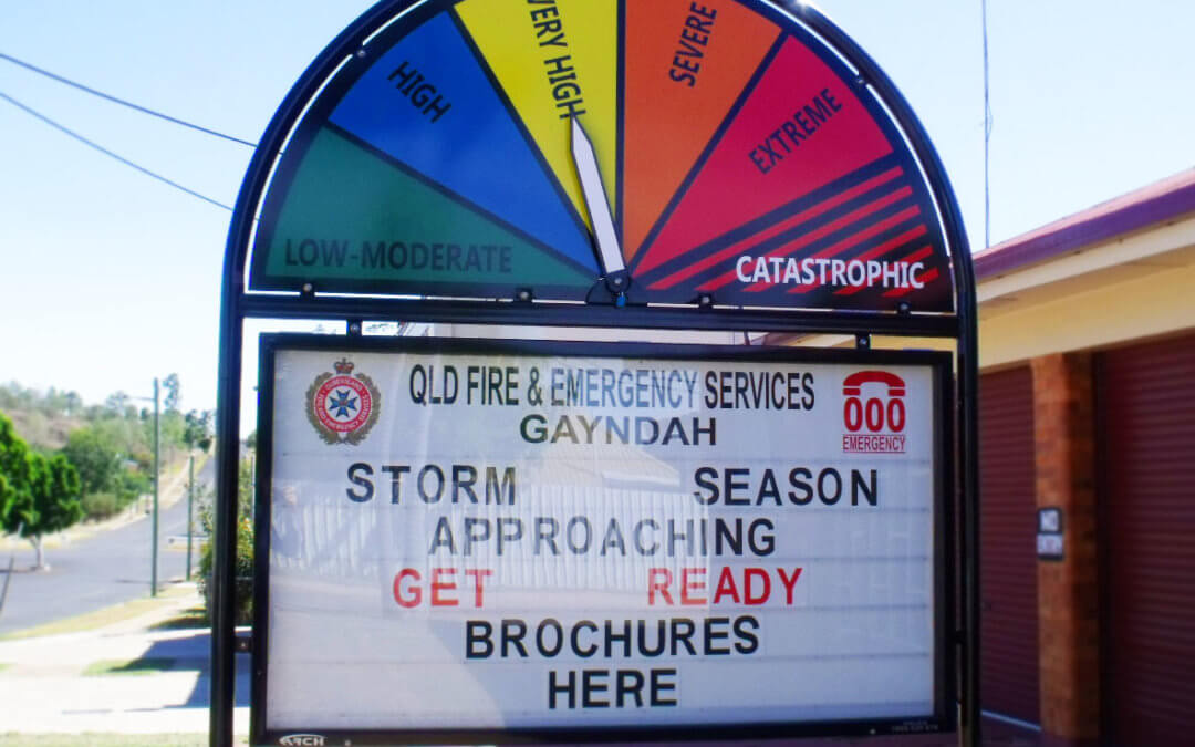 Did you receive an emergency alert from Queensland Fire and Emergency Services (QFES) today?