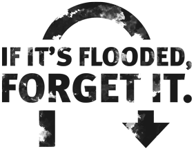 If it's flooded, forget it – Prepare for your decision to affect others