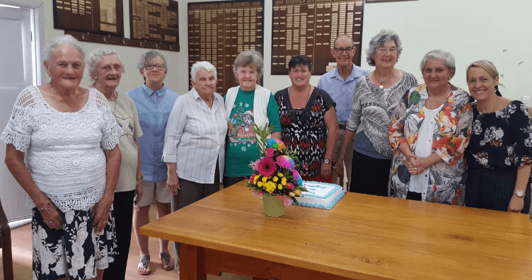 Community service recognised…