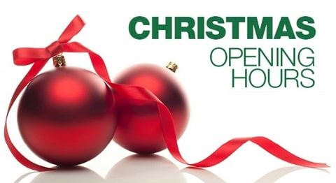 Christmas Hours of Operation – Pools