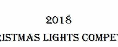 Christmas lights winners shine