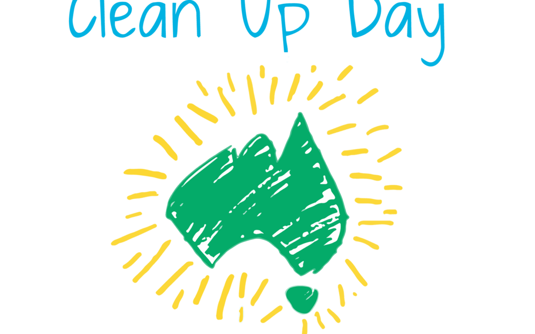 Clean Up Australia Day – Sunday, 3 March