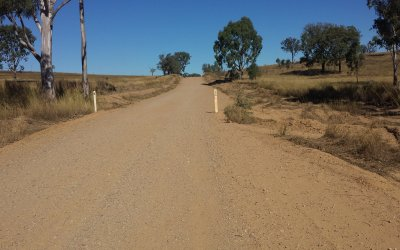 Culvert remediation works – Gayndah / Mt Perry Rd