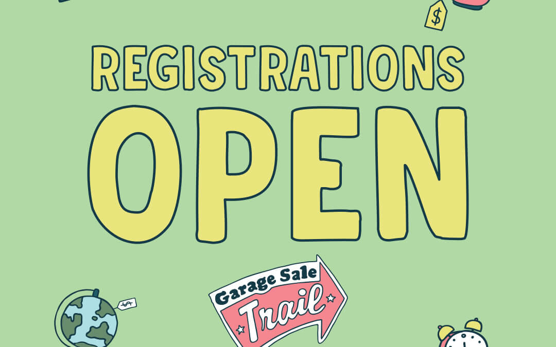 Garage Sale Trail 2019 – Registrations Open Soon!