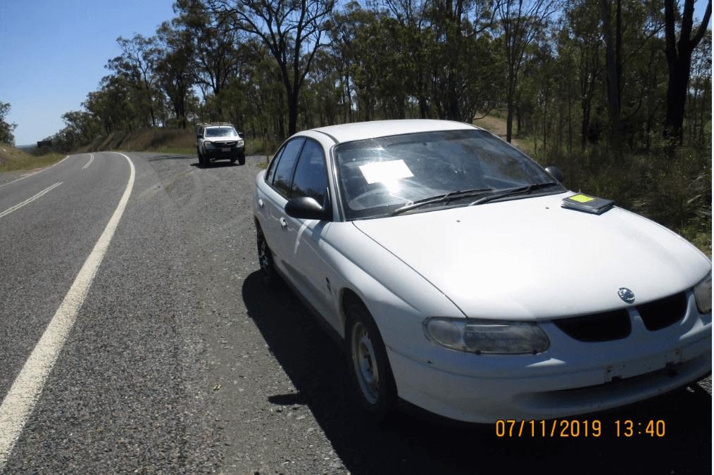 Holden Commodore Sedan – Vehicle Tender