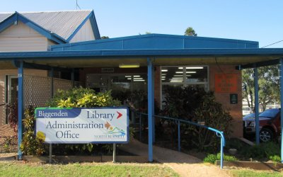 Biggenden Customer Service and Library Centre Closed Friday, 17 July 2020