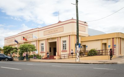 Face lift for the Gayndah Community Hall