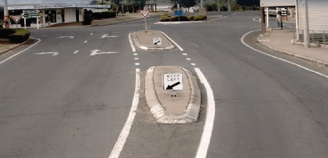 Burnett Highway – Gayndah TMR pedestrian facility works