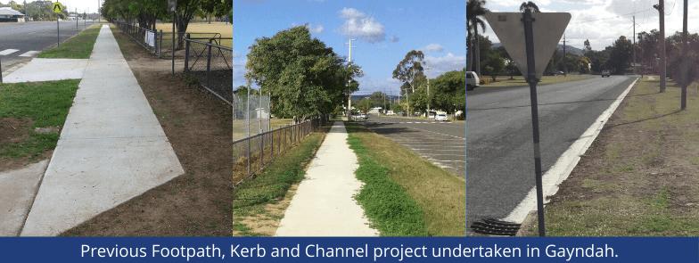 Region Wide Footpath, Kerb and Channel Works