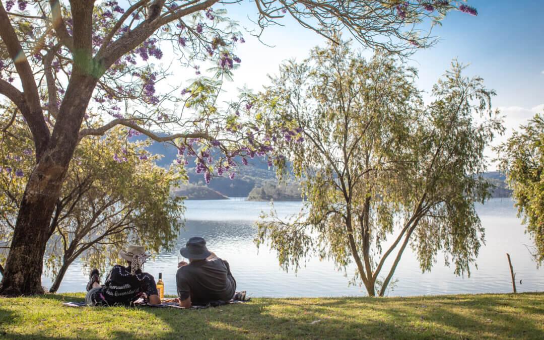Lake Cania, Monto