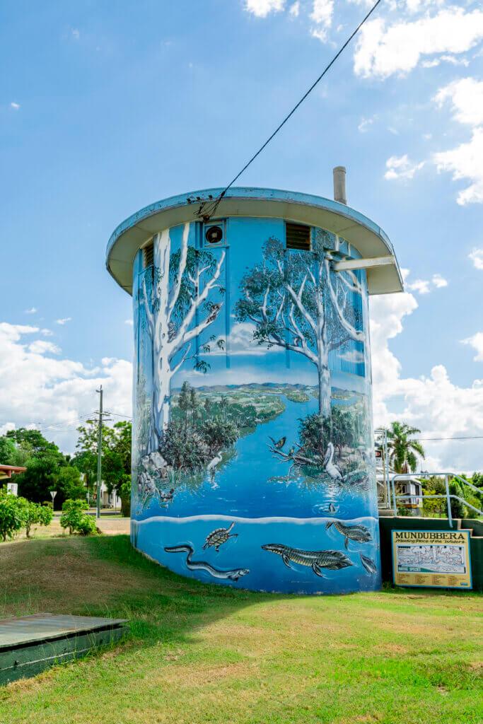 Meeting of the Waters Mural - Mundubbera