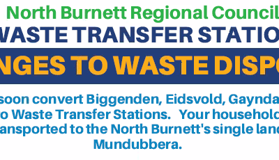 Changes to Waste Disposal in the North Burnett