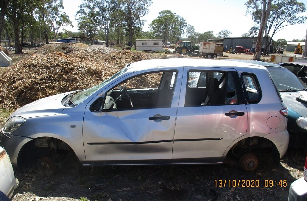 Vehicle Impoundment Notice – 2006 Mazda 2