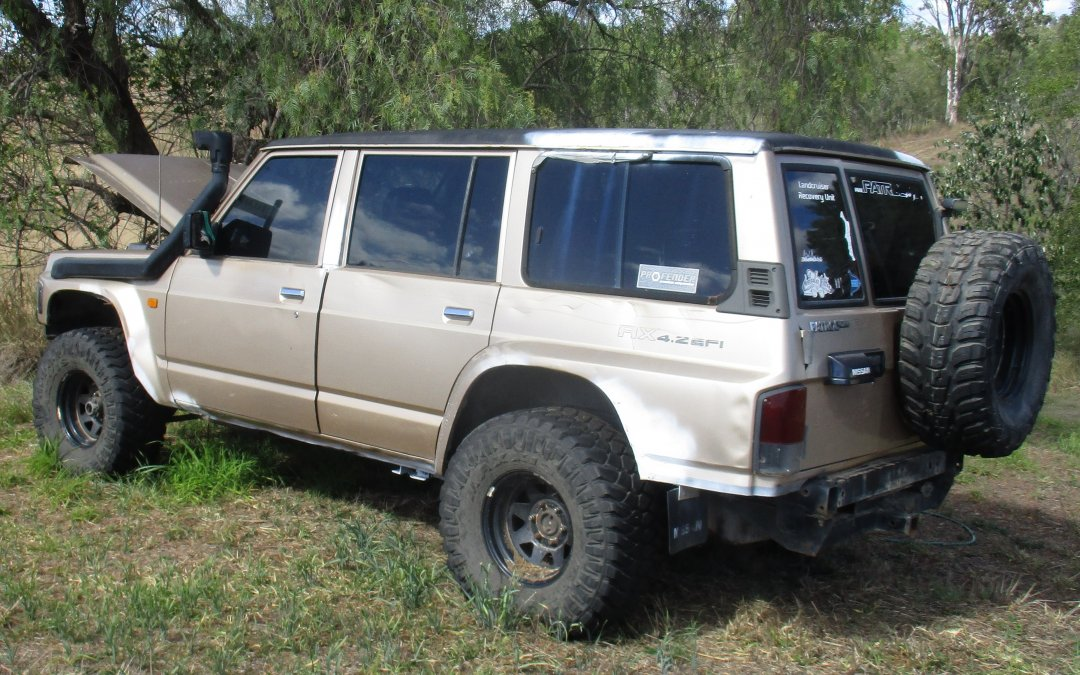 Vehicle Impoundment Notice – 1995 Nissan Patrol