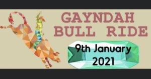 Gayndah Bull Ride 2021