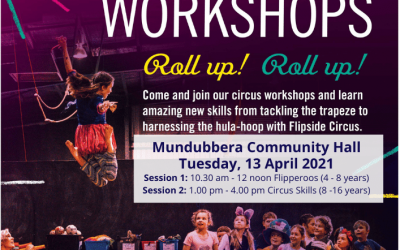 Flipside Circus Workshop is Coming these School Holidays!