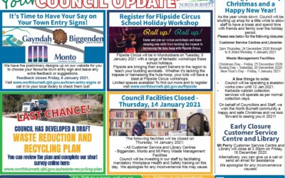 Your Council News – 17 December 2020