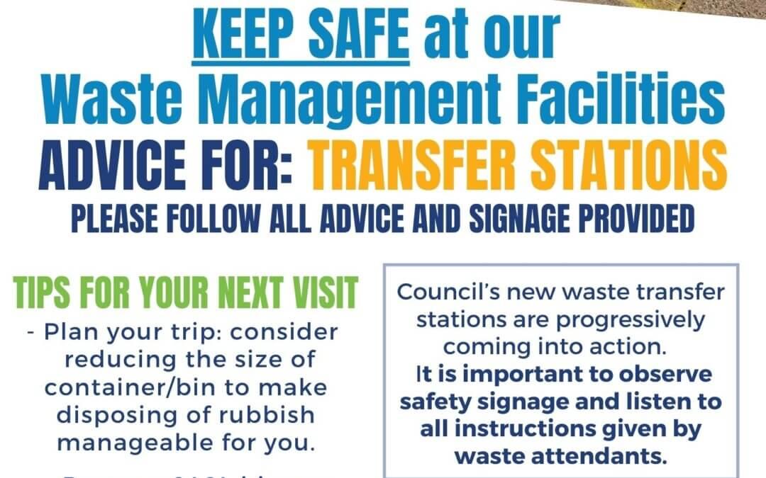 Keep Safe at Waste Transfer Stations