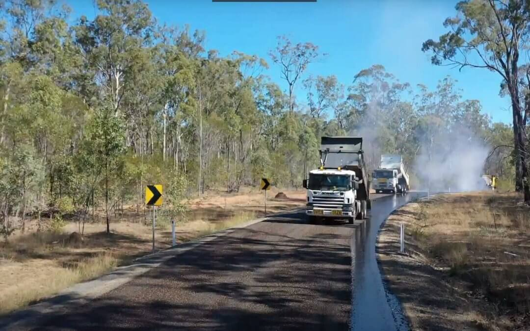 Rubber Blended Bitumen Sealing our Roads and Streets